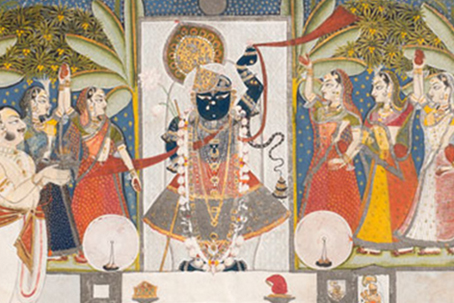 The Tradition of Krishna Paintings at the Art Institute of Chicago