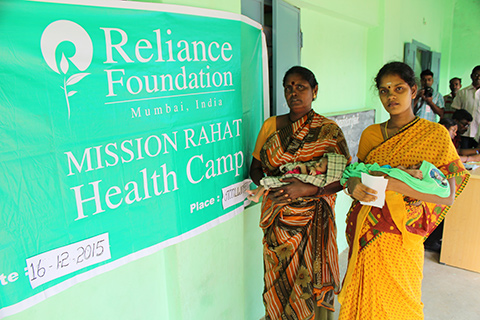 Mission Rahat in Jammu by Reliance Foundation