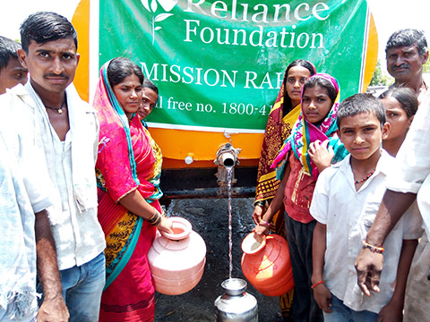 Mission Rahat: Marathwada Drought Relief